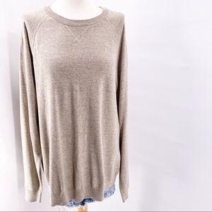 H&M Label of Graded Goods Sweater Tan Sz XXL EUC